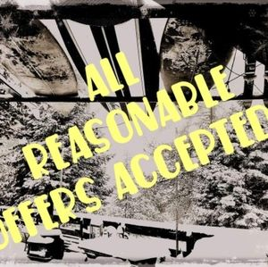 All reasonable offers are accepted!!!